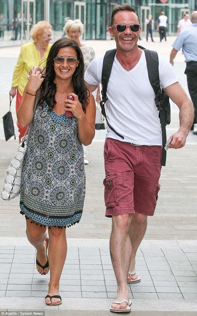 Daniel Brocklebank Coronation Street costars Hayley Tamaddon and Daniel Brocklebank