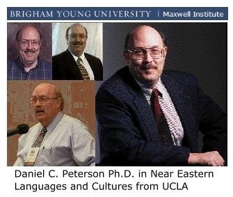 Daniel C. Peterson Daniel C Peterson UnAuthorized Interview