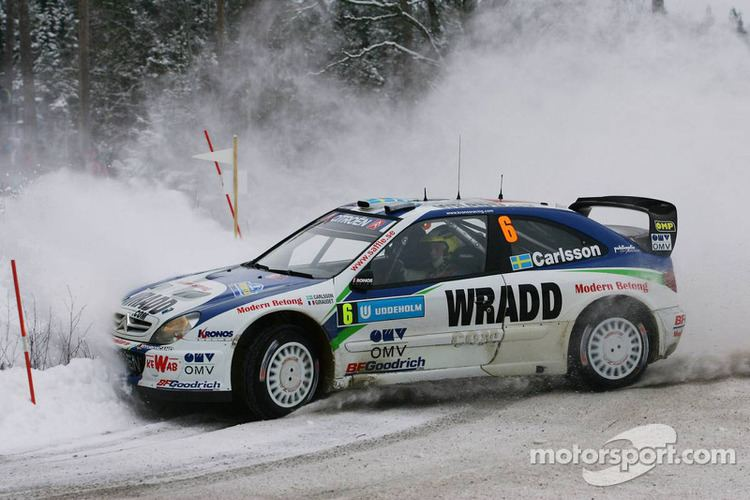 Daniel Carlsson (rally driver) Daniel Carlsson and Denis Giraudet at Swedish Rally