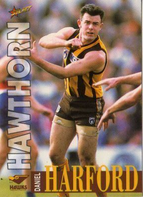 Daniel Harford HAWTHORN Daniel Harford 191 SELECT 1996 Australian Rules Football