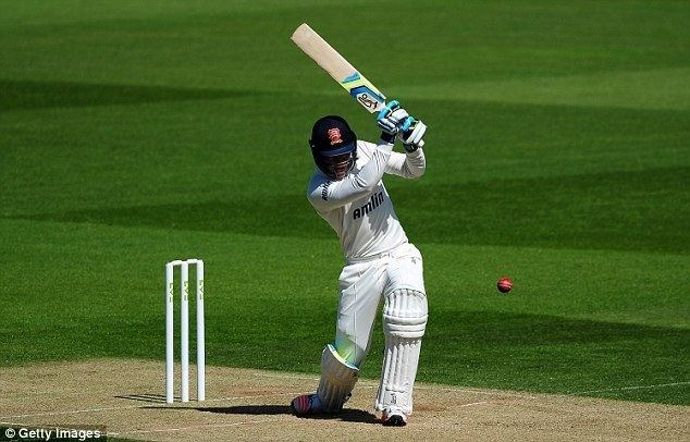 Daniel Lawrence Dan Lawrence becomes third youngest batsman to score a County