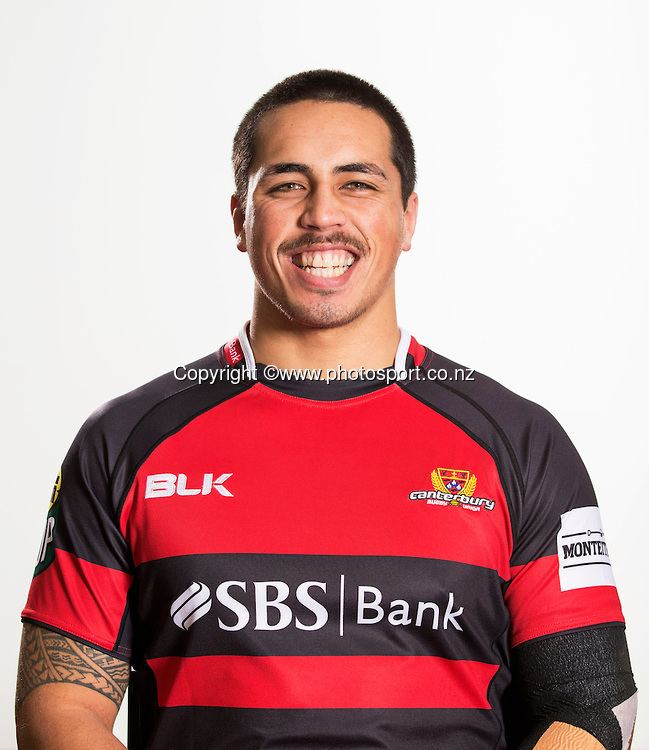 Daniel Lienert-Brown Canterbury ITM Cup Headshots 12 August 2014 Photosport New Zealand