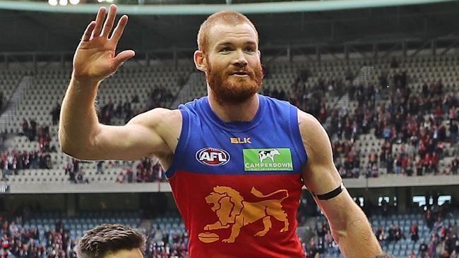 Daniel Merrett Retiring Lion Daniel Merrett offered suspension from final AFL game