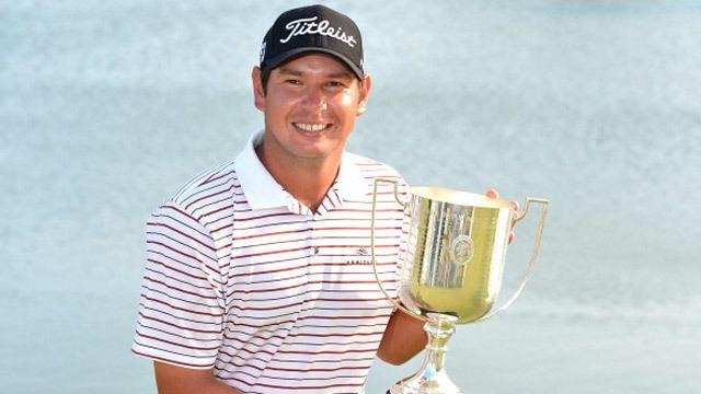Daniel Popovic (golfer) Daniel Popovic closes out shocking victory at Australian PGA