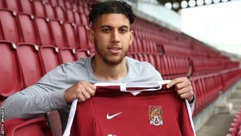 Daniel Powell Daniel Powell Northampton Town sign former MK Dons winger BBC Sport