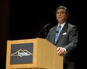 Daniel S. Papp KSU News President Daniel S Papp discusses present future of