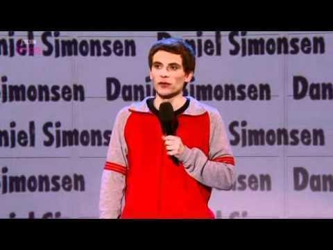 Daniel Simonsen Daniel Simonsen on Russell Howard39s Good News YouTube