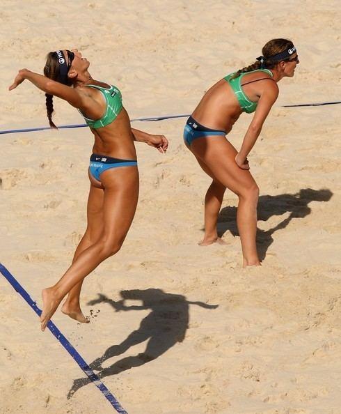 Daniela Gattelli Daniela Gattelli and Lucilla Perrotta Photos FIVB 207