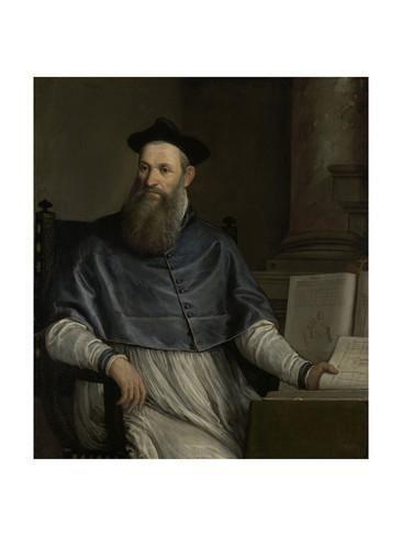 Daniele Barbaro Portrait of Daniele Barbaro 151370 Giclee Print by