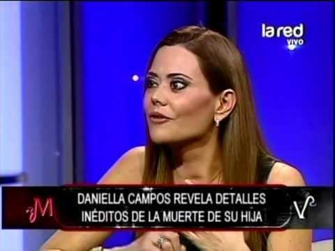 Daniella Campos Daniella Campos se emociona al contar causa de muerte de su hija y