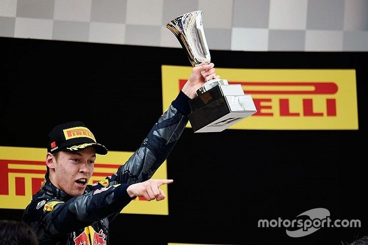 Daniil Kvyat voted Driver of the Day in Chinese GP