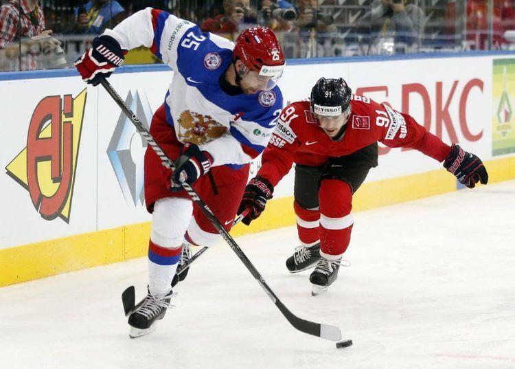 Danis Zaripov Russian Olympic hockey player Danis Zaripov banned for doping