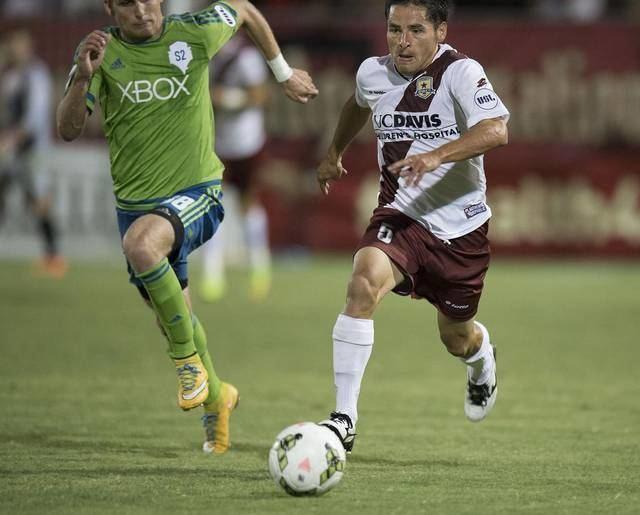 Danny Barrera Republic FC quarterback Danny Barrera enjoys passing The