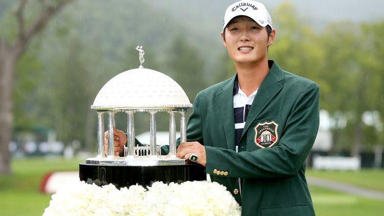 Danny Lee (golfer) Danny Lee wins Greenbrier Classic in 4man playoff FOX