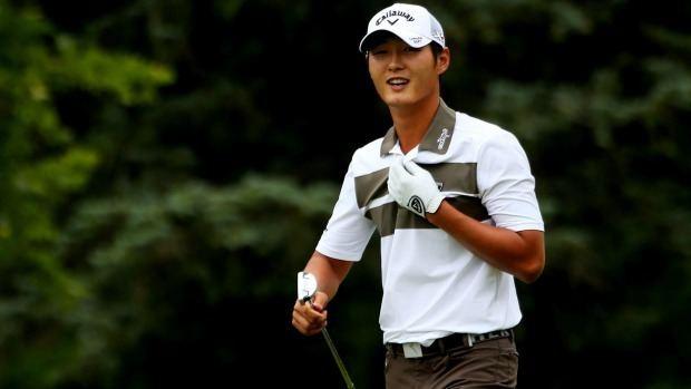 Danny Lee (golfer) Danny Lee edges David Hearn in Greenbrier playoff