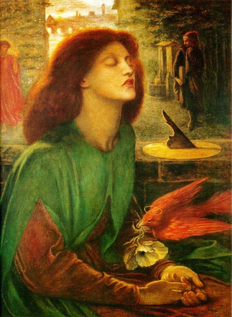 Dante Gabriel Rossetti dantegabrielrossetti17beatabeatrixjpg