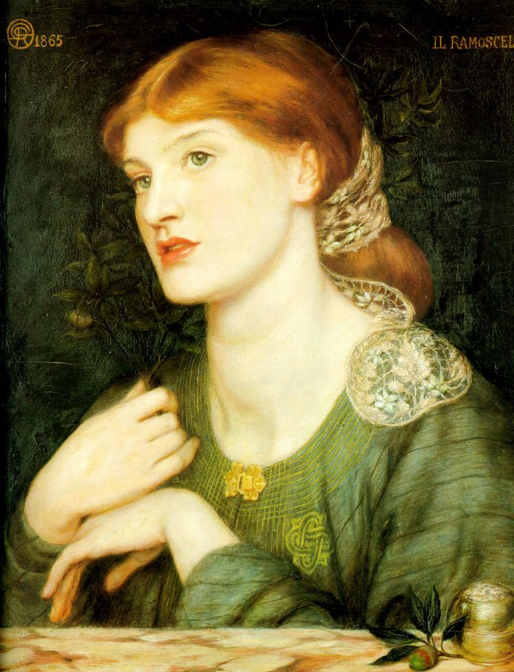 Dante Gabriel Rossetti The Twig Dante Gabriel Rossetti WikiArtorg