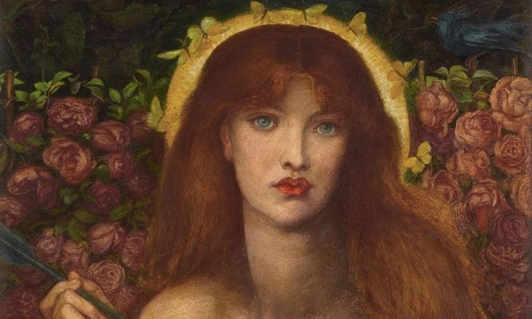Dante Gabriel Rossetti Dante Gabriel Rossetti39s Venus Verticordia up for auction