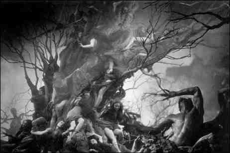 Dante's Inferno (1935 film) BLACK HOLE REVIEWS DANTES INFERNO 1935 1924 black and white