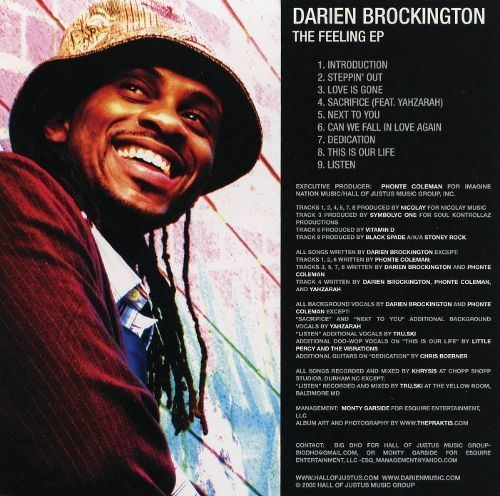 Darien Brockington The Feeling EP Darien Brockington Songs Reviews Credits AllMusic
