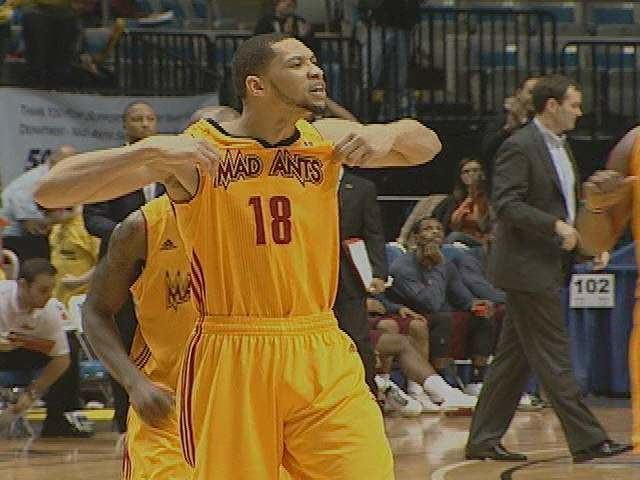 Darington Hobson From the Cheap Seats Darington Hobson Sparks Mad Ants