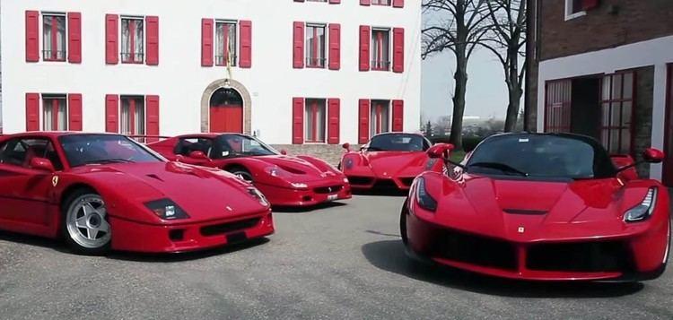 Dario Benuzzi Dario Benuzzi Tests F40 F50 Enzo amp LaFerrari Back to