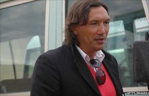 Dario Bonetti Zambians part company with coach Dario Bonetti BBC Sport