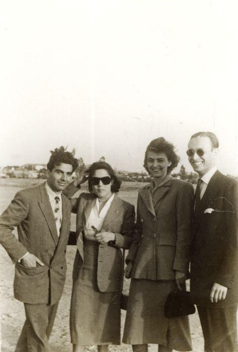 Dario Gabbai Mario Modiano with Dario Gabbai and friends centropaorg