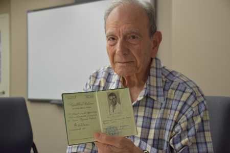 Dario Gabbai Holocaust Survivor Dario Gabbai Donates Historical Documents to USC