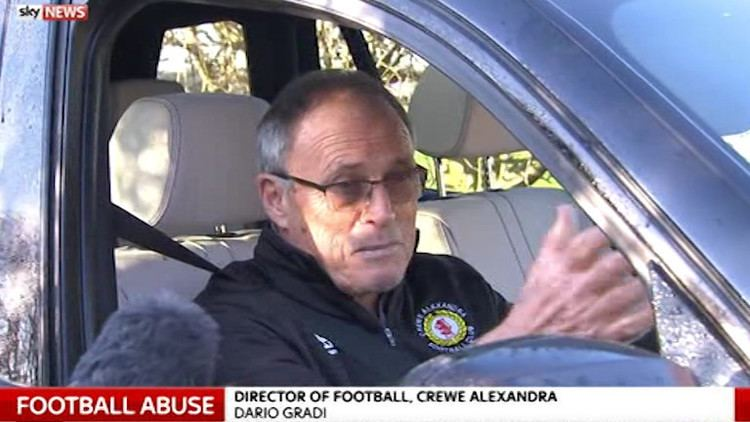 Dario Gradi Former Crewe boss Dario Gradi refuses to apologise when asked about