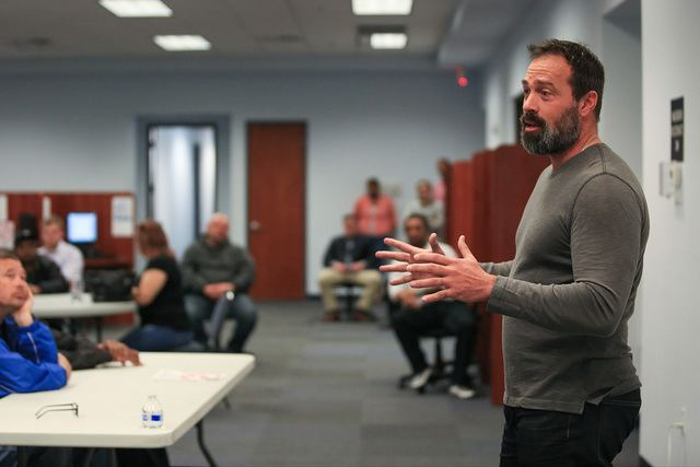 Dario Herrera Disgraced former commissioner Dario Herrera offers life advice to