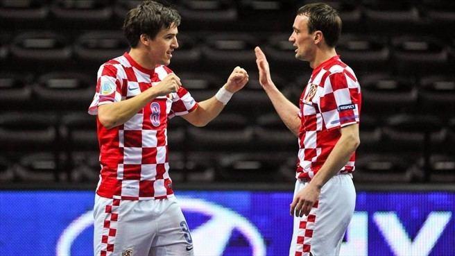 Dario Marinović Dario Marinovi Croatia Futsal EURO nav UEFAcom