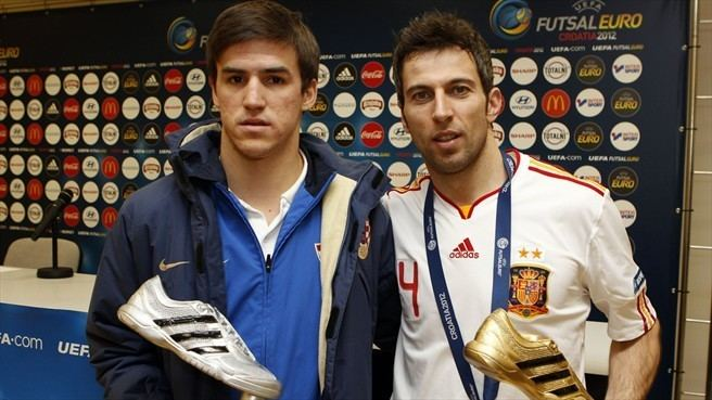 Dario Marinović Dario Marinovi Croatia amp Torras Spain Futsal EURO nav