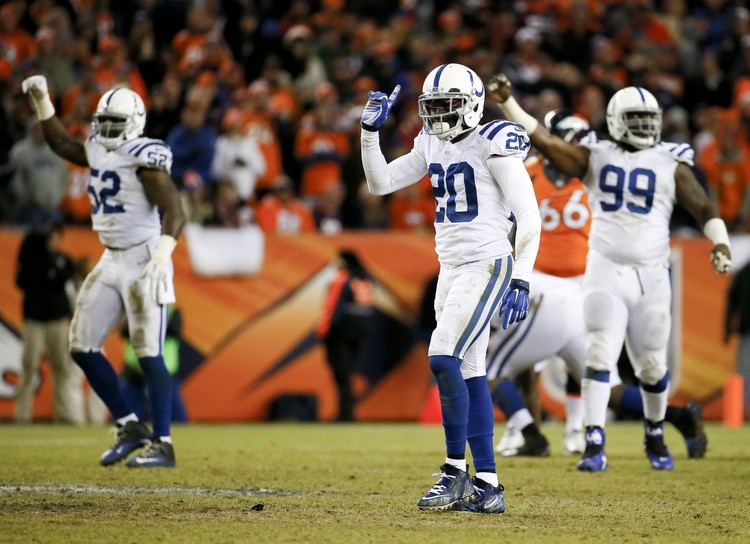 Darius Butler Former UConn DB Darius Butler Right In Middle Of Colts