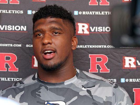 Darius Hamilton Darius Hamilton showed up for Rutgers football in time of need