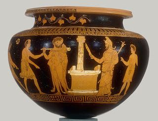 Darius Painter Looting Matters Apulian pottery the significance of the Darius painter
