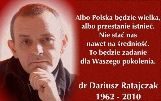 Dariusz Ratajczak polskawalczacacom Zobacz wtek Dr Dariusz Ratajczak 2811