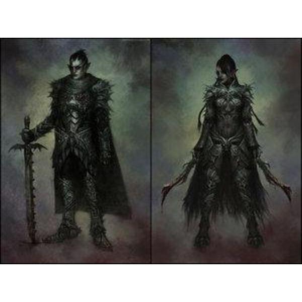 Dark elves in fiction Dark elf Rankly