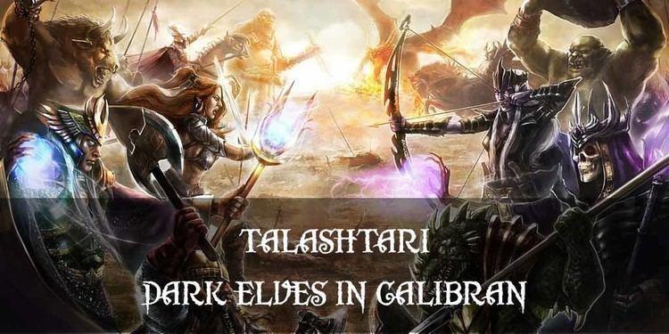 Dark elves in fiction Dark Elves Talashtari A Place of Terrors