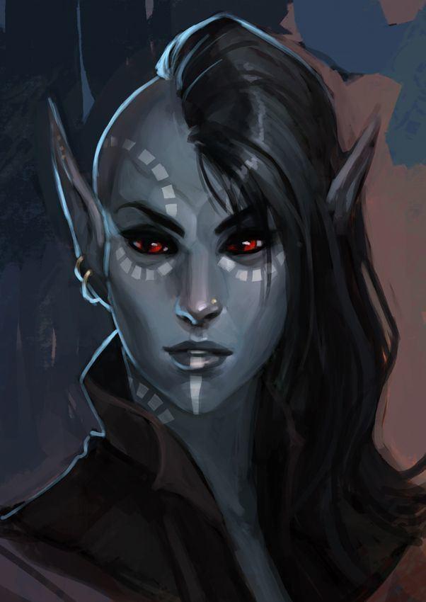 Dark elves in fiction httpssmediacacheak0pinimgcom736x824581