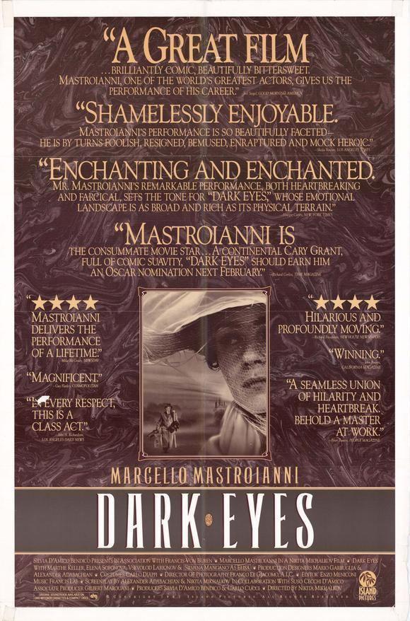 Dark Eyes (film) Dark Eyes Movie Posters From Movie Poster Shop