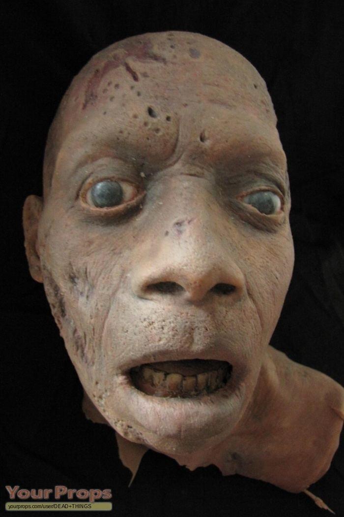 Dark Remains Dark Remains Zombie Head original movie prop