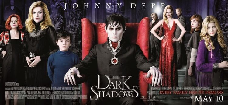 Dark Shadows Dark Shadows The Collins family Teaser Trailer