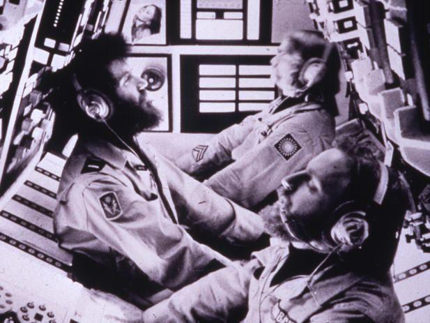 Dark Star (film) movie scenes Dark Star 1974