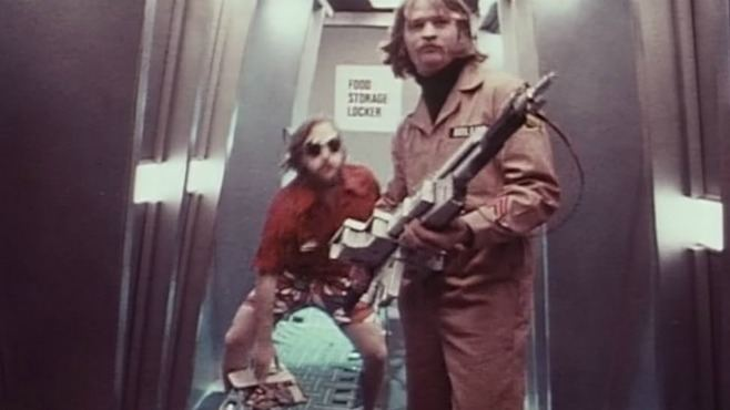 Dark Star (film) movie scenes Originally a student film that Carpenter expanded to feature length Dark Star is the low low budget science fiction classic that depicts space travel as a
