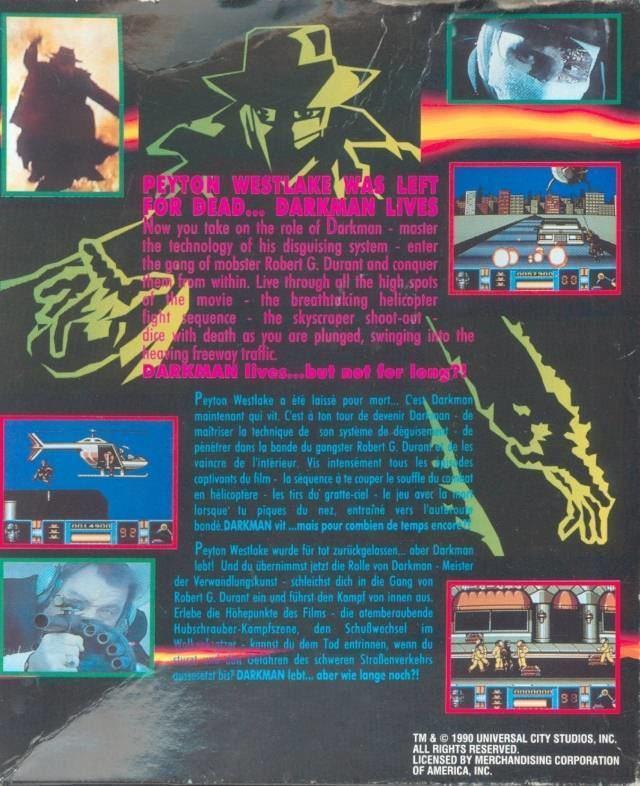 Darkman (video game) httpswwwemuparadisemeGameBase20AmigaExtras