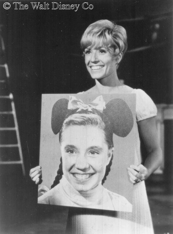 Darlene Gillespie Darlene Gillespie in 1968 Original Mouseketeers MMC Pinterest
