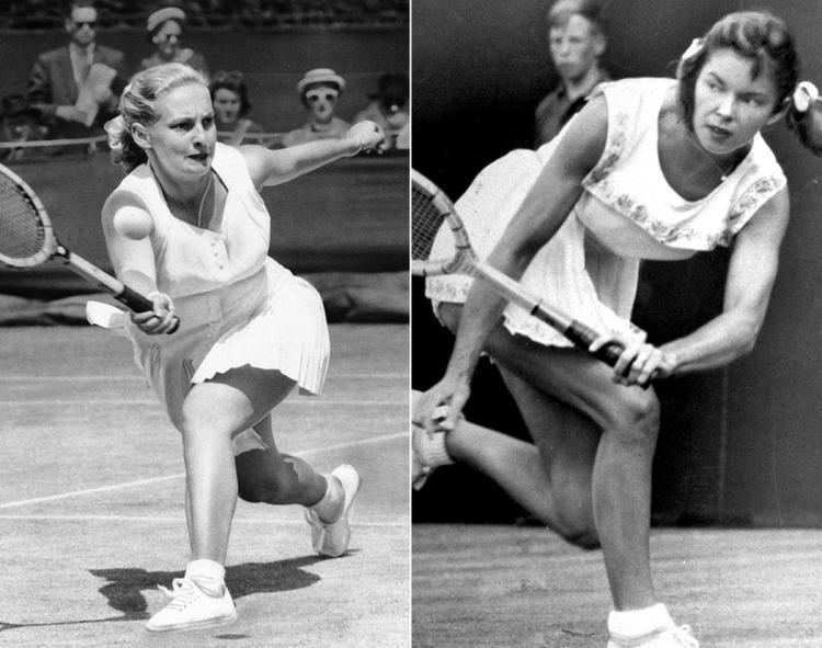 Darlene Hard Darlene Hard 1955 amp Beverly Baker 1959 Photos Tennis