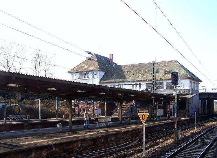 Darmstadt Nord station