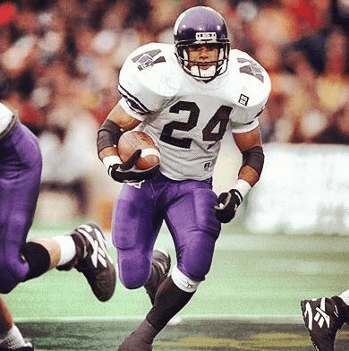 Darnell Autry Northwestern Football Throwing it back to the mid9039s